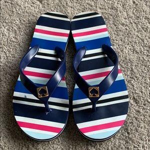 Kate Spade flip flop sandals size 6